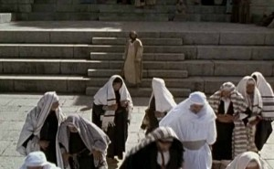 Jesus Condemning the Jews
